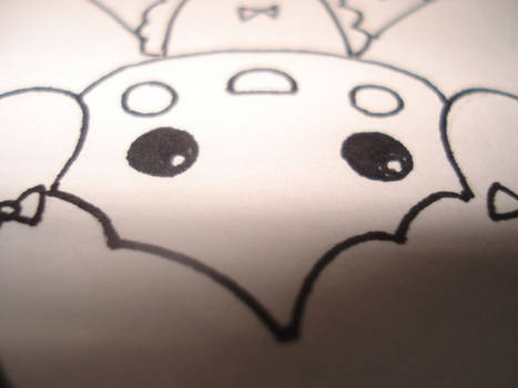 chibi upside down