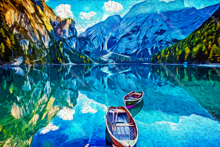 Vanilla lake