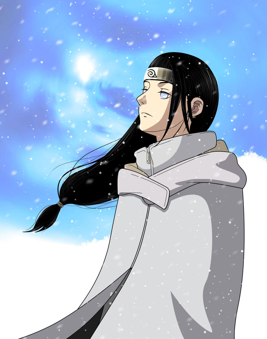 Neji Warming Up Winter by low-pony-tail
