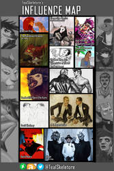 Influence Map 2018 by TealSkeletore