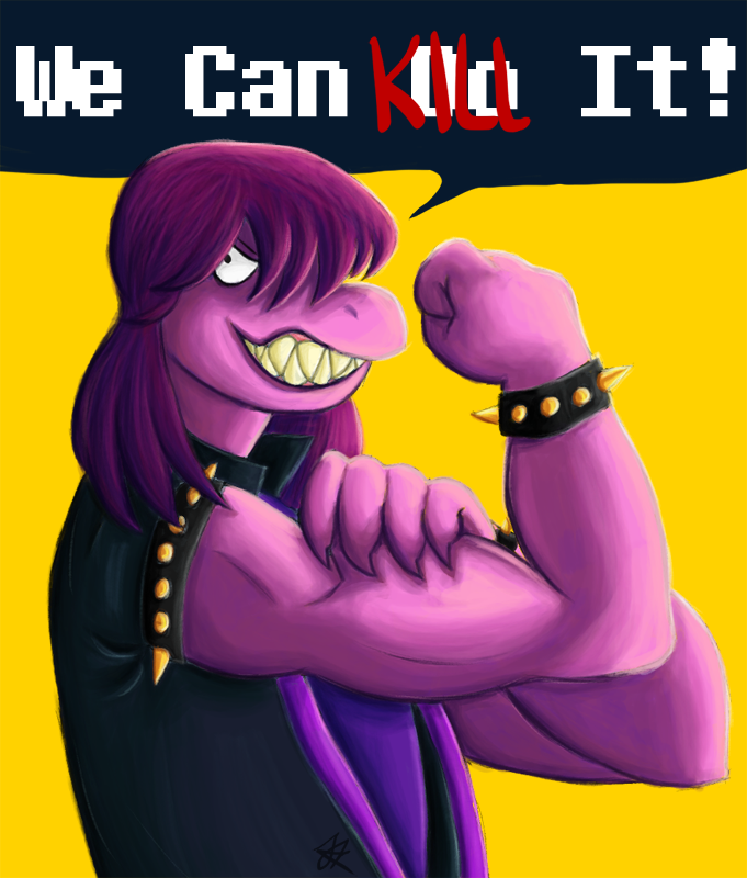 We Can Kill It! by TealSkeletore