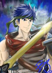 Ike, The Radiant Hero by windrenz