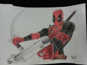 Action - Deadpool! by windrenz