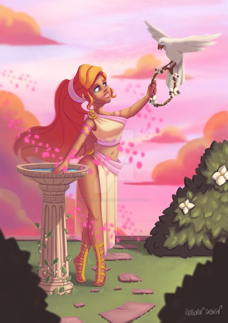 Aphrodite, Goddess of Love by ArtOfRebornDesign