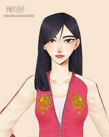 Mulan (Wreck It Ralph 2) by remiNISE123