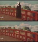 Ghibli Re-draw Challenge pt.3: No Face