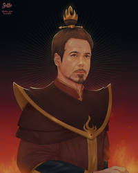 Tony Stark (Fire Lord) | ATLA AU