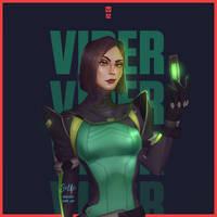 Viper|VALORANT (FAN ART)