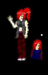 Kaisy Kasidy Fairen Demonkat Infernus -colored- by alejandra-infernus