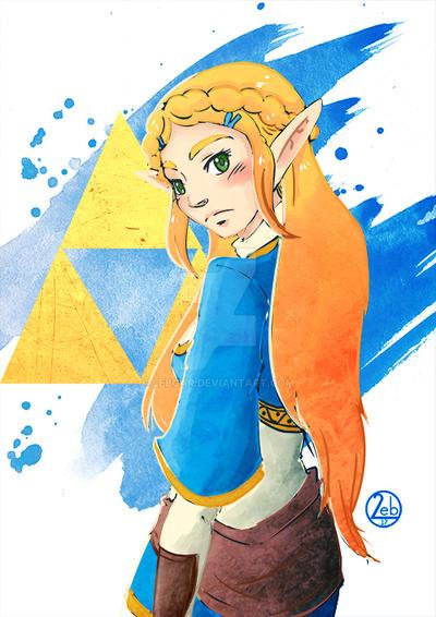 [Zelda] - Breath of the Wild by Lebgar