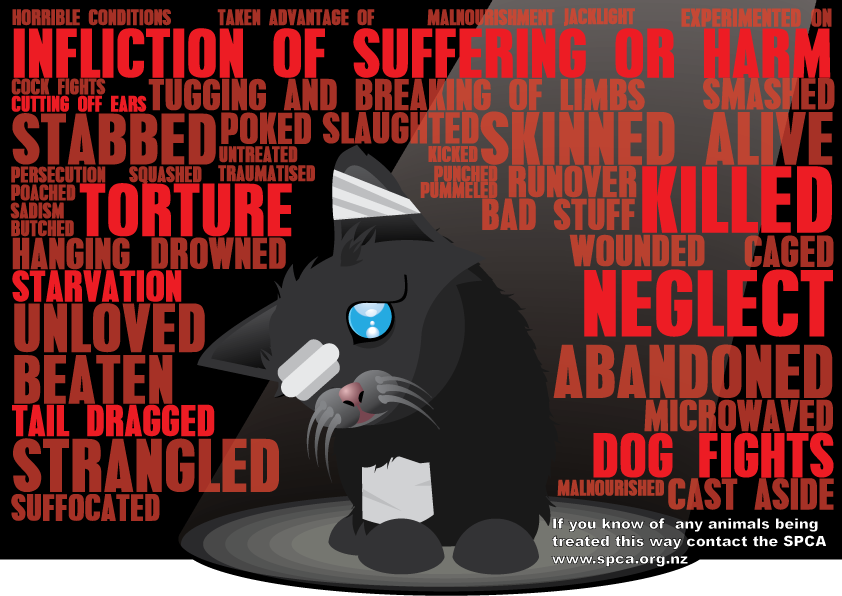 Animal abuse posters - photo#5