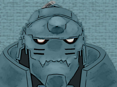Alphonse Elric by mo3ali
