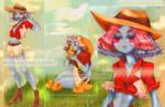 [open] Aqua Girl Farmer