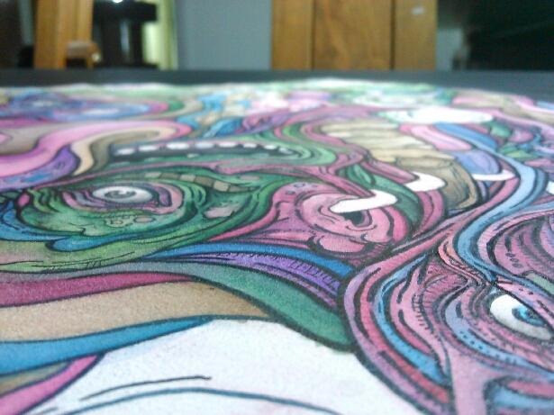 Sneak peak at my new painting by Hambuster122