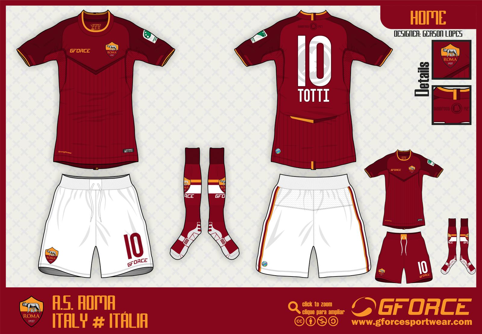 uniforme roma 2015