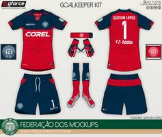Federacao dos Mockups - Goalkeeper Kit