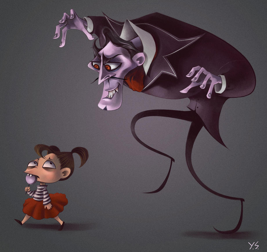 Vampy Character Design by juri0juli