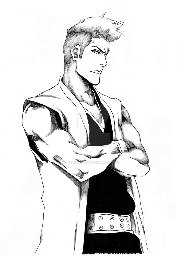 Kensei Sketch by GrimmjawJack on DeviantArt