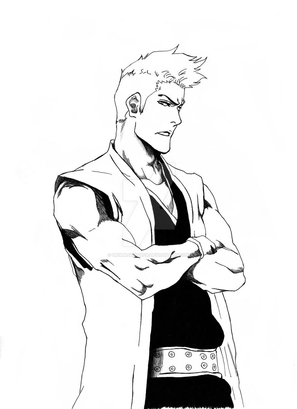 Bleach:: Kensei Muguruma by Rumbera4evar on DeviantArt
