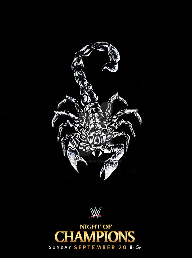 Sting Scorpion Poster [WWE Night of Champions] by ...
