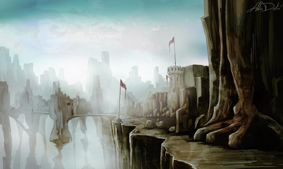 Rocky Castle by al-din