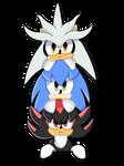 Three little hedgehogs