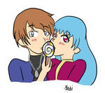Commission - Kula and Chris by bluexprism