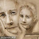 Jon Stewart by NickMoscovitz