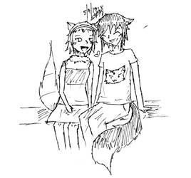 (CE) LouCandy Sketch by Shine-Hikaru