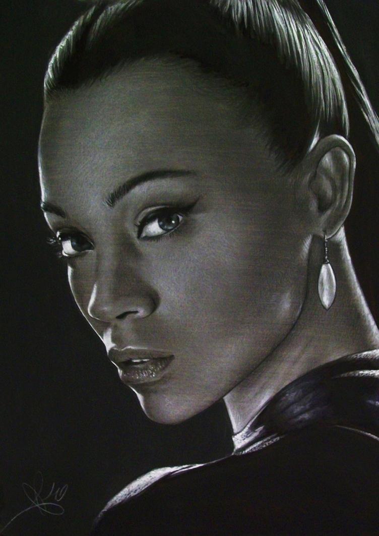 Uhura by lorenzothekiller