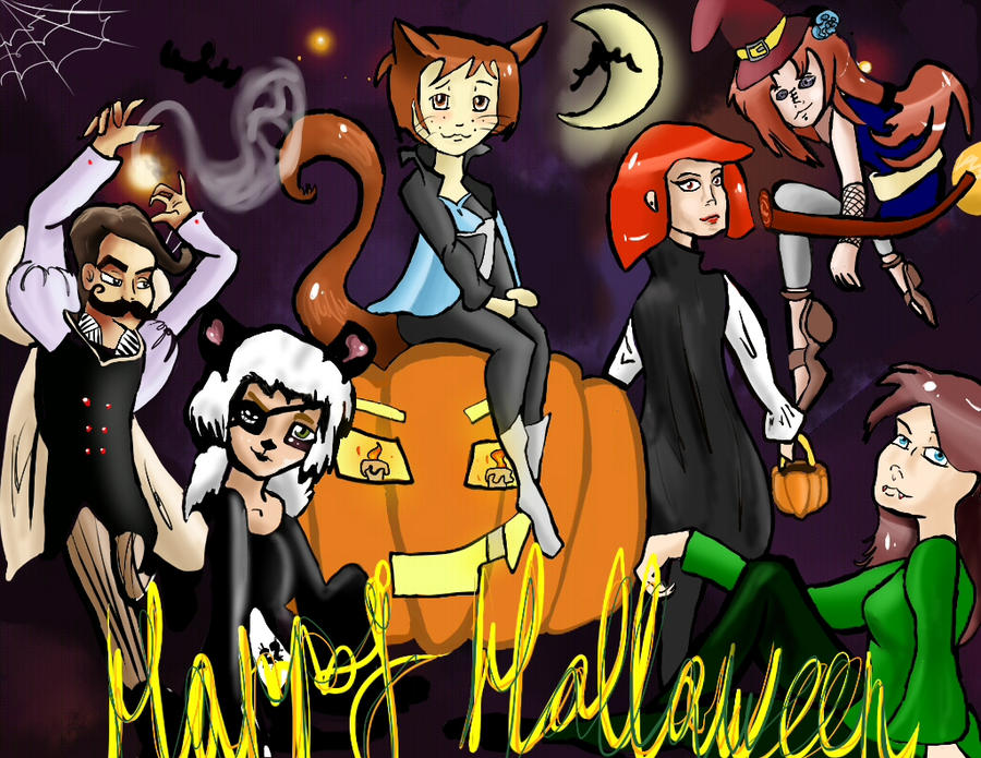 Halloween by Blumestien