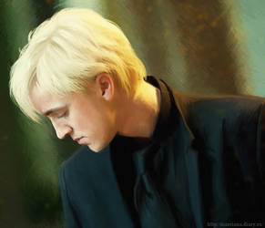 Draco Malfoy by Marcianca