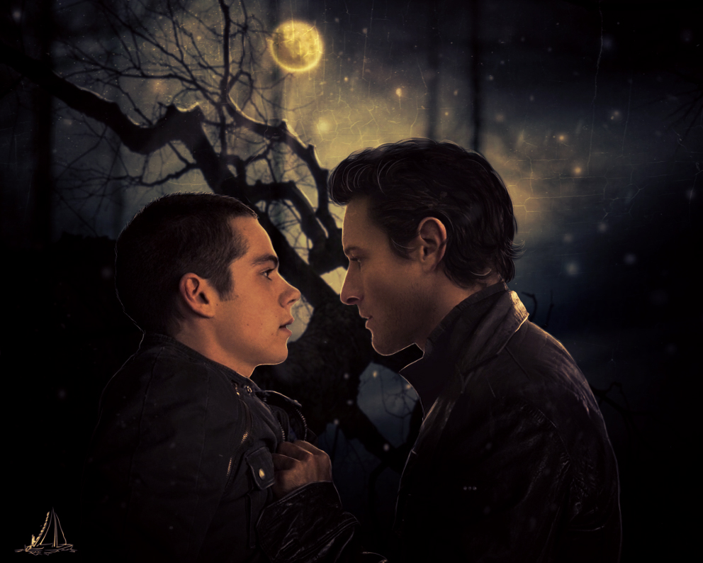 Peter Hale and Stiles Stilinski by Marcianca