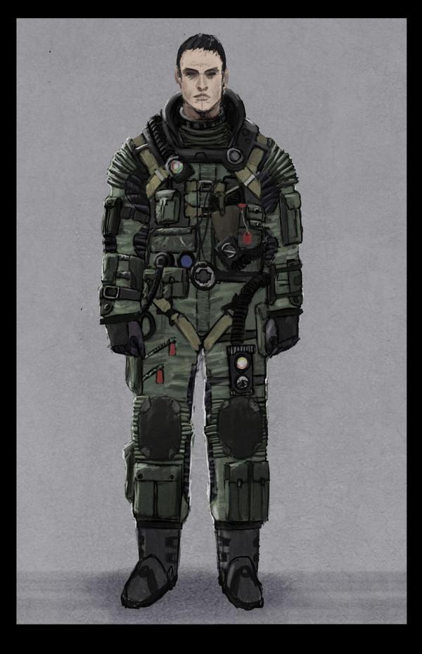 Pilot suit concept by philzero