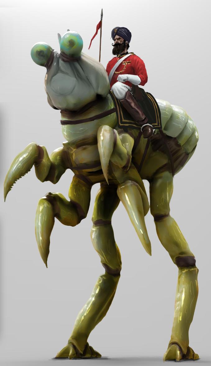 Cavalry Bug by philzero