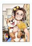 Hiro and me