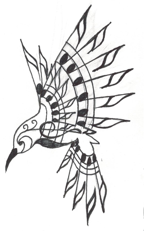 Line Art Hummingbird : Hummingbird tattoo by crystalchik on deviantart