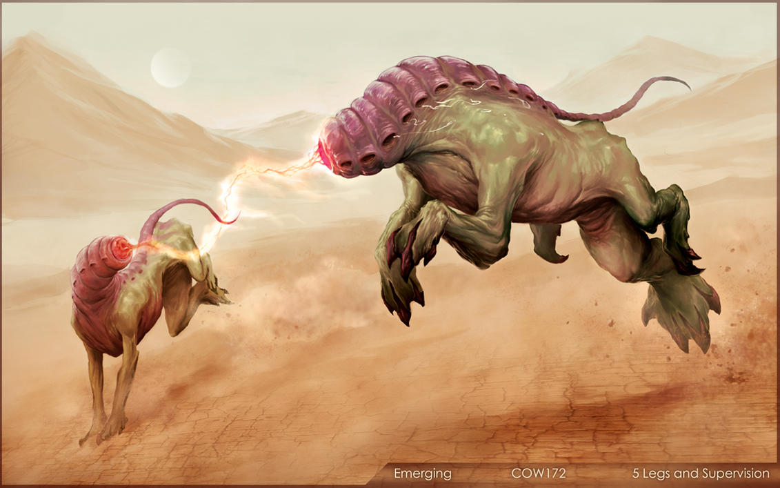 5 legs and super vision by sirend on deviantart