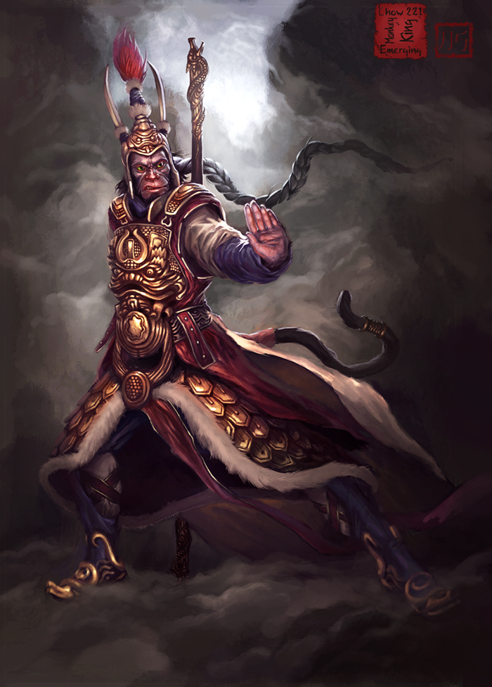 The Monkey King by SirenD