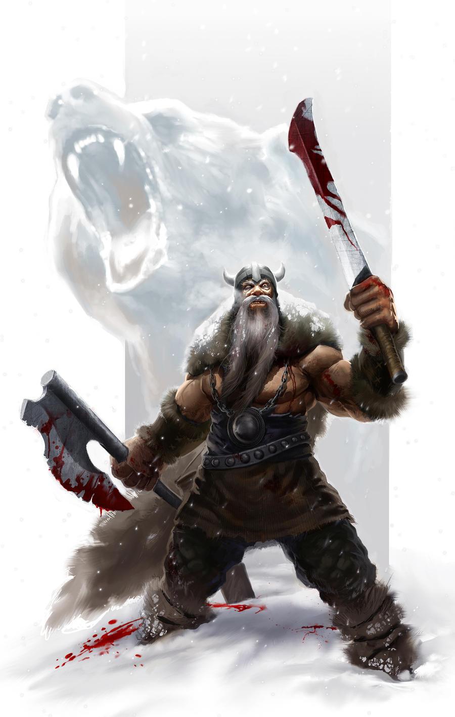 Berserkers: Icelandic Viking 'Mad Warriors' In The Army Of ...  Viking Berserker