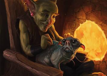Goblin's Best Friend by SirenD