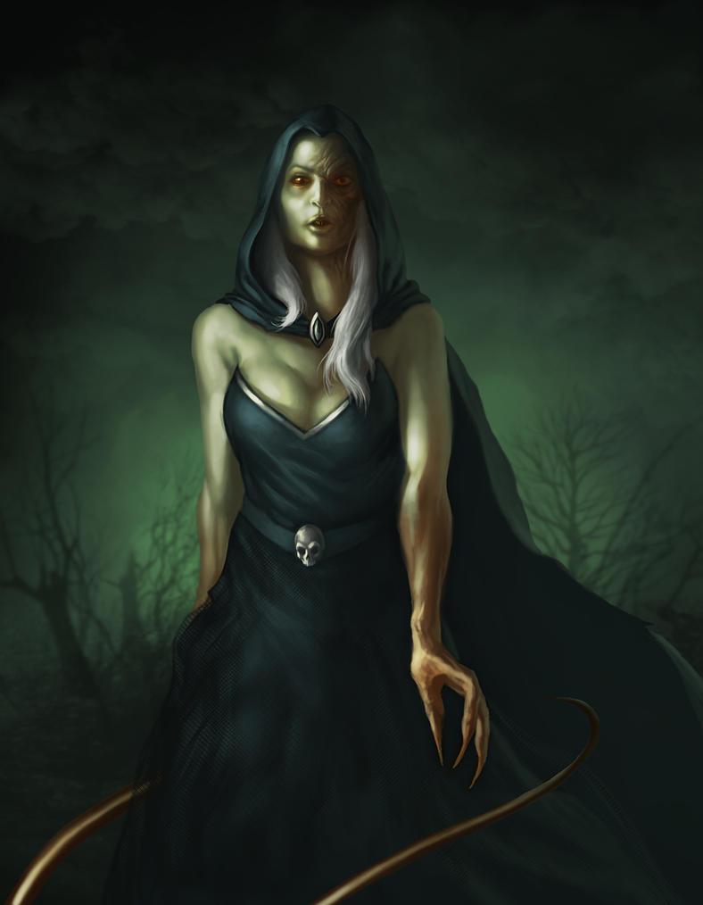 Nude Demon Woman 25
