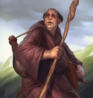 Wondering Mendicant by SirenD
