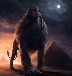Sphinx by SirenD