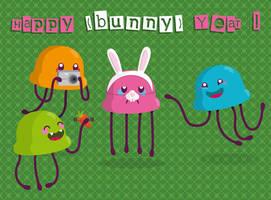 F... Happy Bunny year by newbee-work