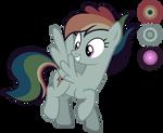 Rainbow Flash (OC Reference) {V.2}