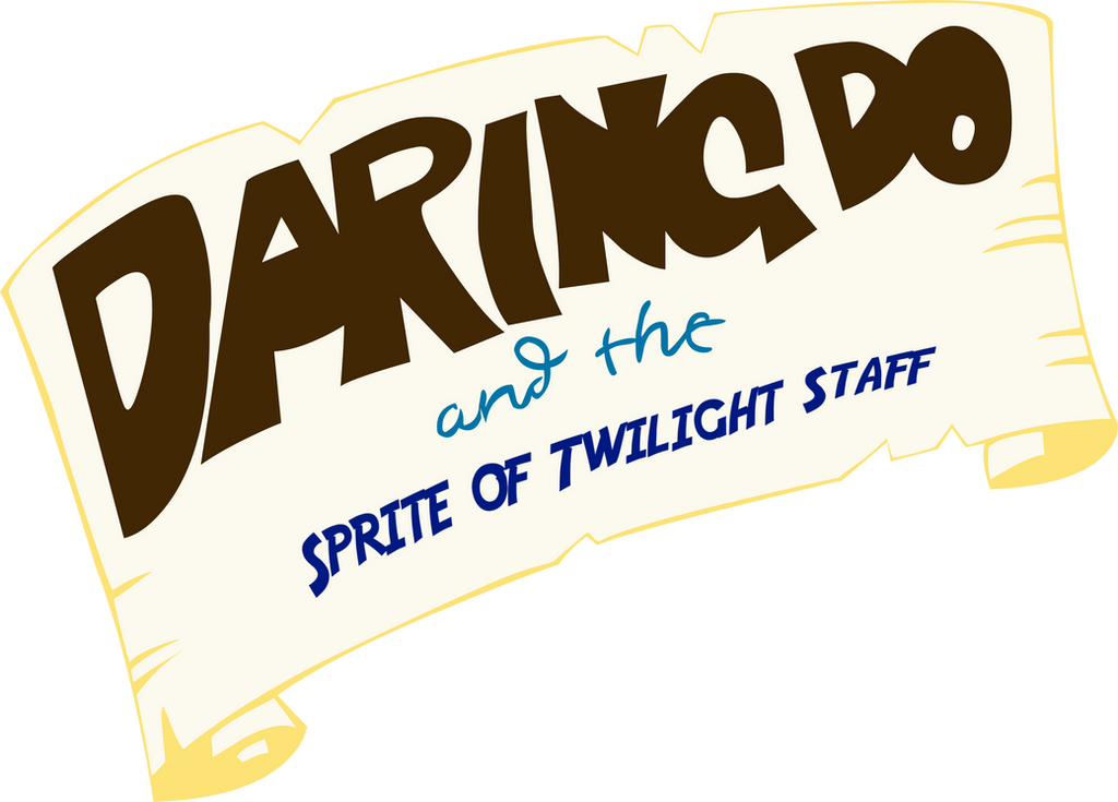 Daring Do And the Sprite of Twilight Staff (Label) by Diamond-ChiVA