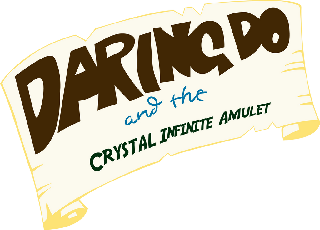 Daring Do And the Crystal Infinite Amulet (Label) by Diamond-ChiVA