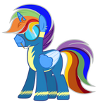 (Gift) Blazie as a Wonderbolt
