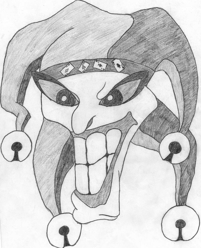 Gangster joker drawings
